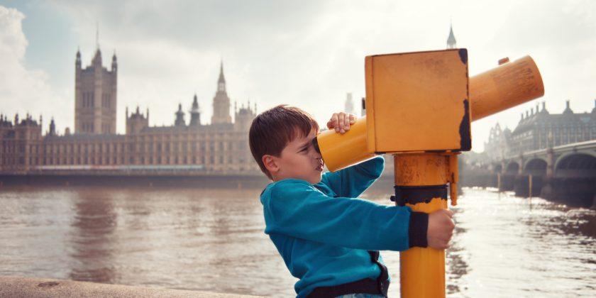 Londýn s dětmi