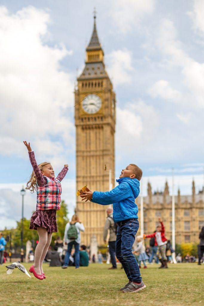 Děti u Big Ben