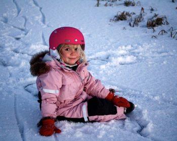 dětské zimní kombinézy